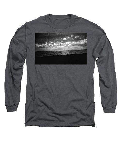 Sunset Ostia Beach Long Sleeve T-Shirt