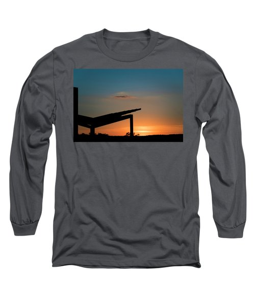 Sunset Over Austin City Limits Festival Week One 2017 Long Sleeve T-Shirt