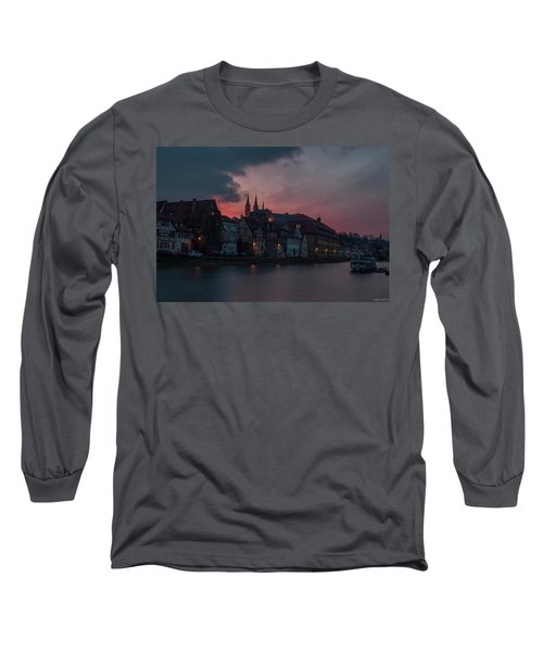 Sunset Over Bamberg Long Sleeve T-Shirt by Photo Escape