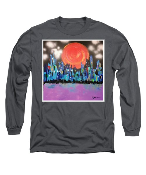Sunset Over Capital Square Long Sleeve T-Shirt