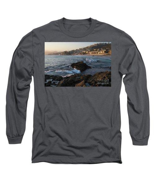 Sunset Over Laguna Beach   Long Sleeve T-Shirt