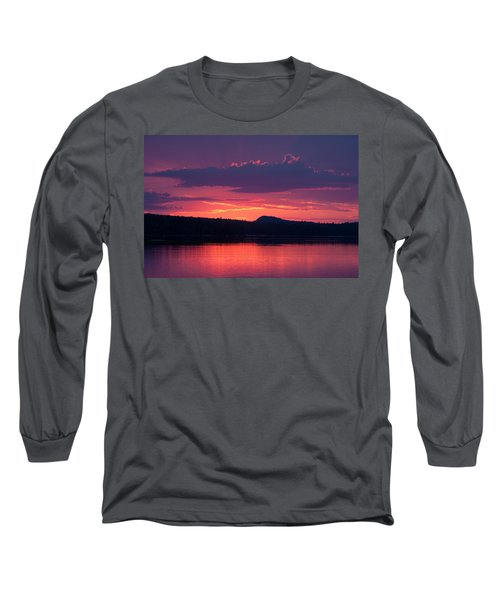 Sunset Over Sabao Long Sleeve T-Shirt