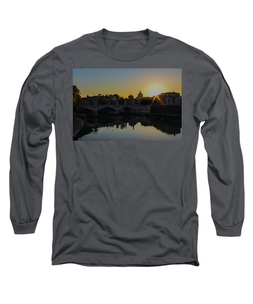 Sunset Over St Peters Long Sleeve T-Shirt
