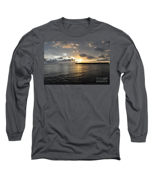 Sunset Over Sunset Key Long Sleeve T-Shirt