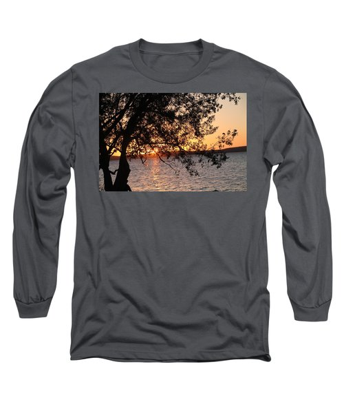 Sunset Over The Caribbean In Cienfuegos, Cuba Long Sleeve T-Shirt