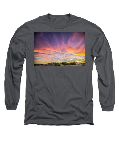Sunset Over The Dunes Long Sleeve T-Shirt