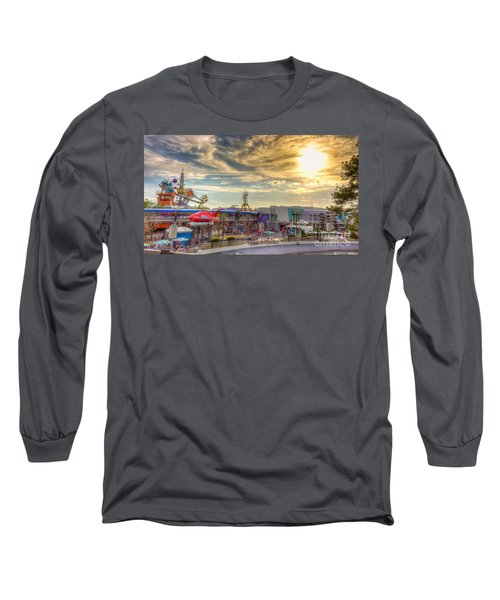 Sunset Over Tomorrowland Long Sleeve T-Shirt