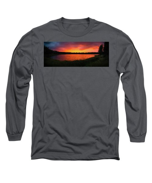 Sunset Panorama Long Sleeve T-Shirt