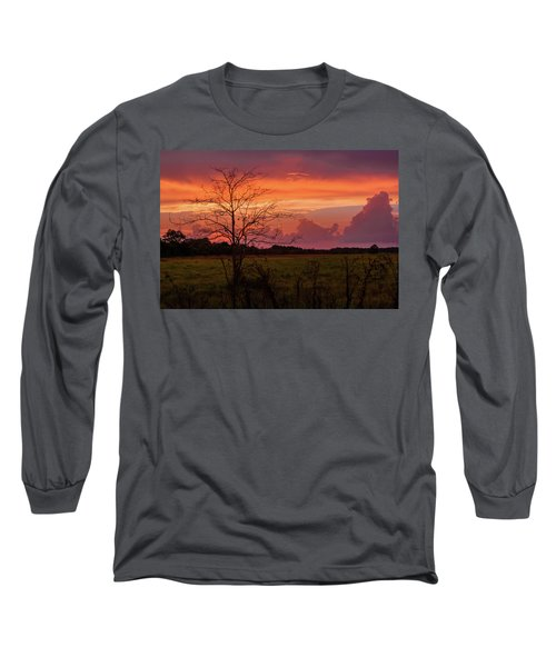 Sunset Pasture Long Sleeve T-Shirt