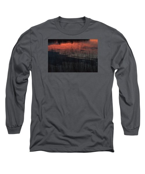 Sunset Reeds Long Sleeve T-Shirt