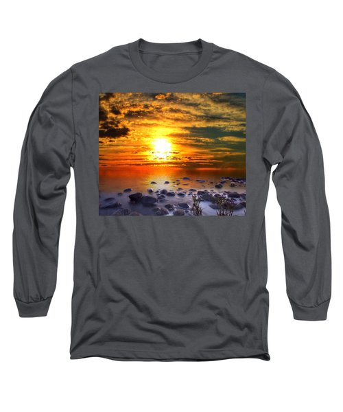 Sunset Shoreline Long Sleeve T-Shirt