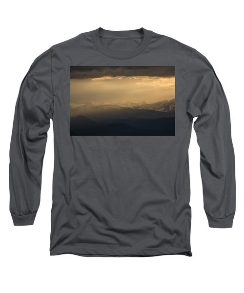 Long Sleeve T-Shirt featuring the photograph Sunset Softness by Colleen Coccia