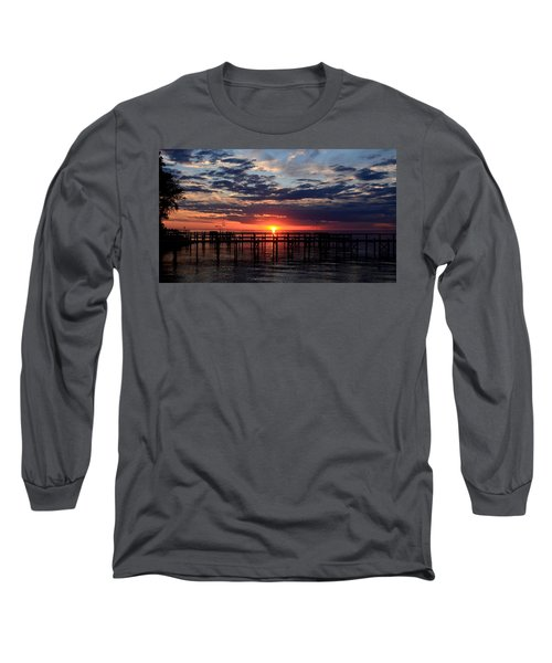 Sunset - South Carolina Long Sleeve T-Shirt