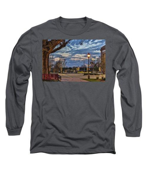 Sunset Square Long Sleeve T-Shirt