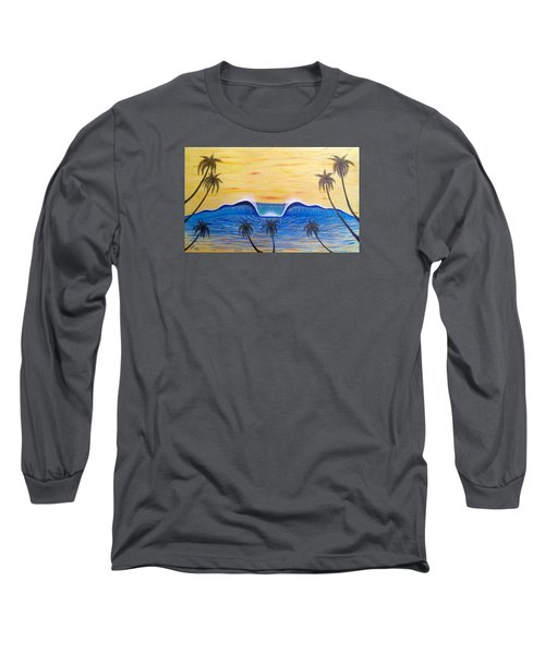 Sunset Surf Dream Long Sleeve T-Shirt