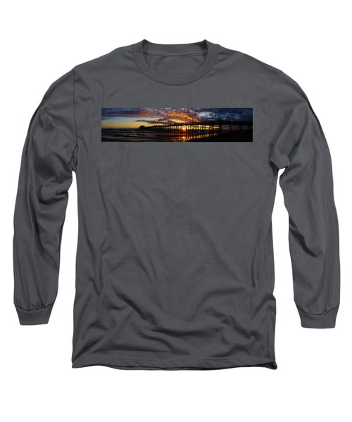 Long Sleeve T-Shirt featuring the photograph Sunset  by Thanh Thuy Nguyen