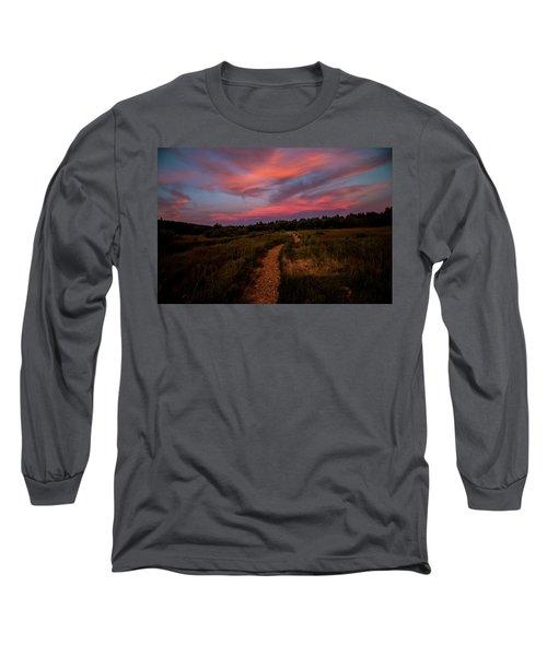 Sunset Trail Walk Long Sleeve T-Shirt