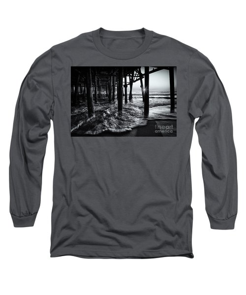 Sunset Under The Santa Monica Pier Long Sleeve T-Shirt