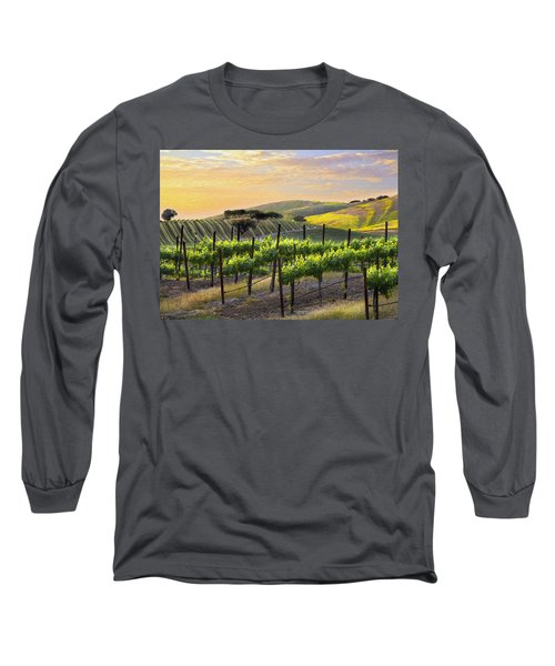Sunset Vineyard Long Sleeve T-Shirt