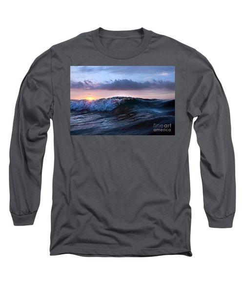 Sunset Wave-wards Beach Long Sleeve T-Shirt