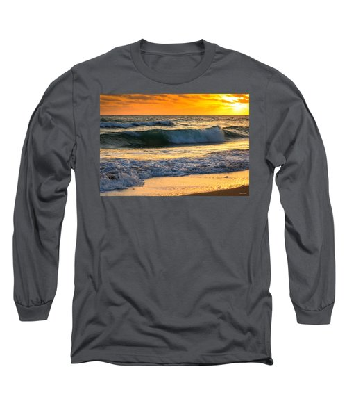 Sunset Waves Long Sleeve T-Shirt