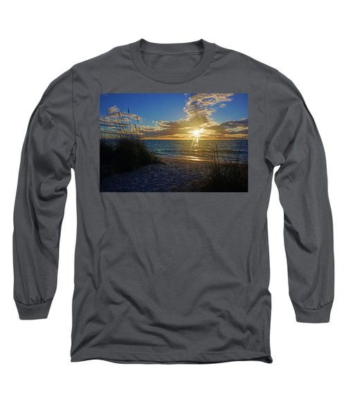 Sunset Windsurfer Long Sleeve T-Shirt