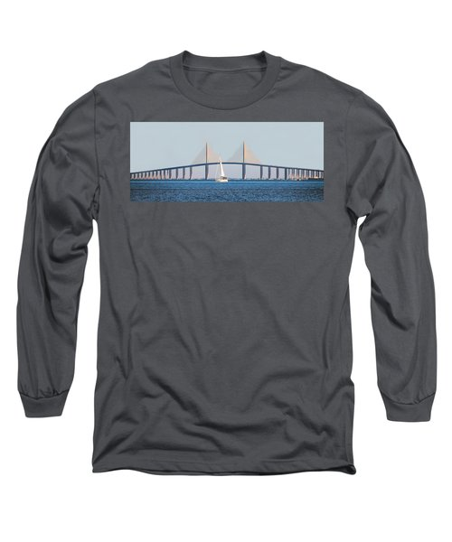 Sunshine Skyway Bridge #2 Long Sleeve T-Shirt