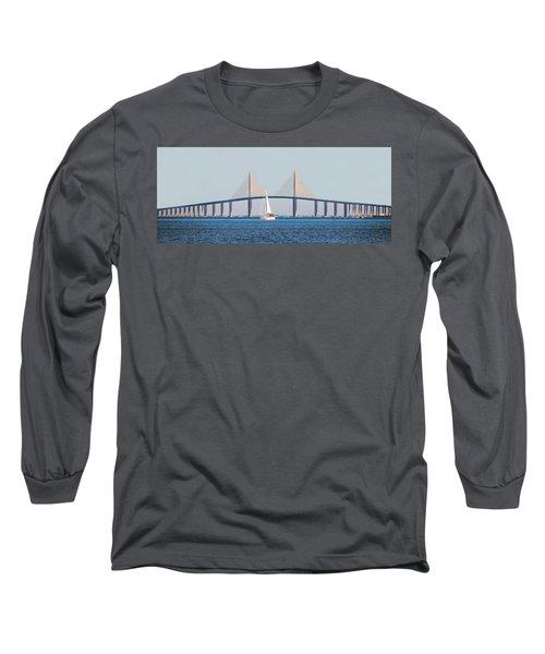 Sunshine Skyway Bridge #2 Long Sleeve T-Shirt