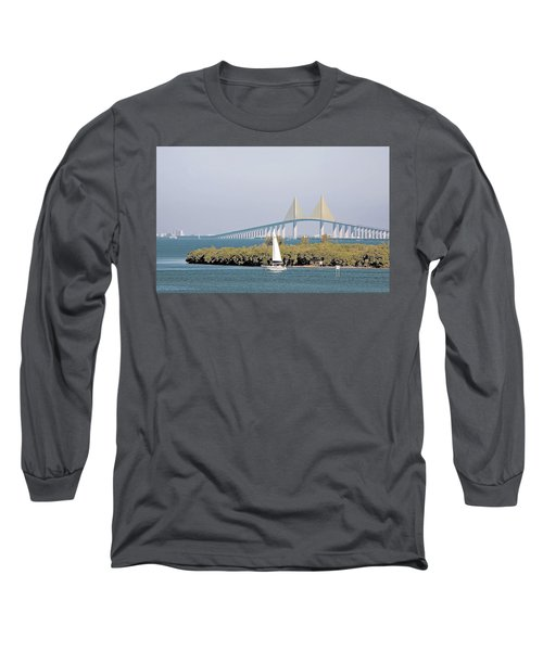Sunshine Skyway Bridge Long Sleeve T-Shirt