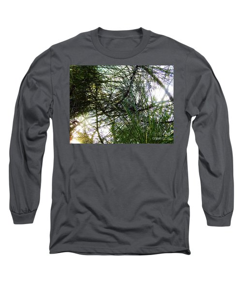 Sunshine Through Pine Needles Long Sleeve T-Shirt