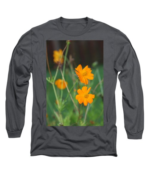 Sunshine To The Mind Long Sleeve T-Shirt by Vadim Levin