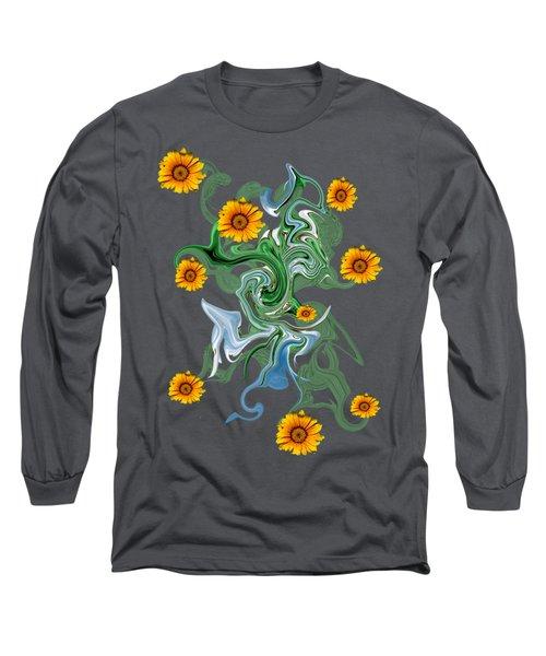 Sunspots Long Sleeve T-Shirt by David and Lynn Keller
