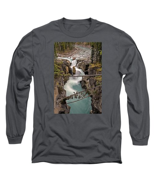 Sunwapta Falls Long Sleeve T-Shirt