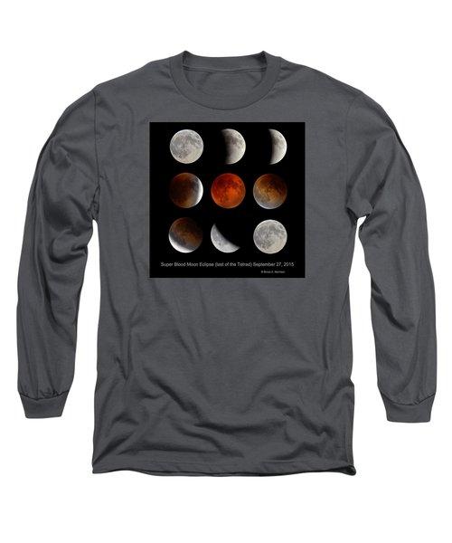 Super Blood Moon Eclipse Long Sleeve T-Shirt
