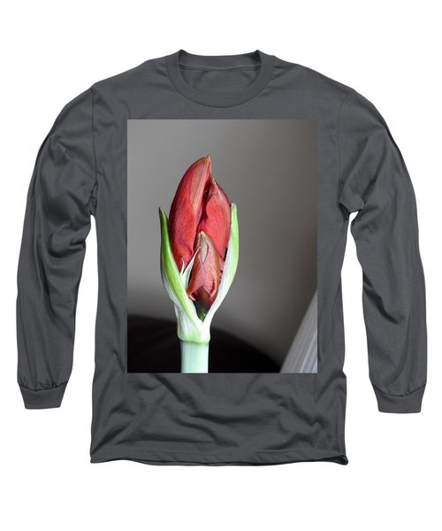 Super Bud Long Sleeve T-Shirt by Betty-Anne McDonald