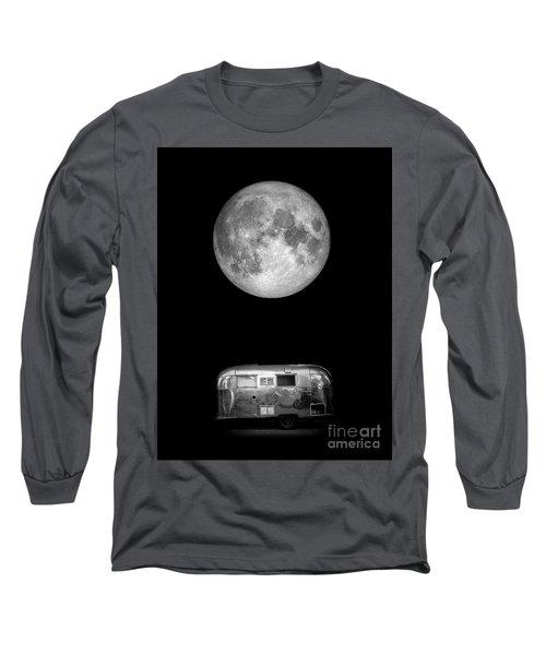 Super Moon Airstream 3 4 Long Sleeve T-Shirt