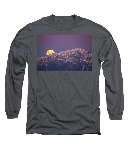 Super Moon Rising Long Sleeve T-Shirt