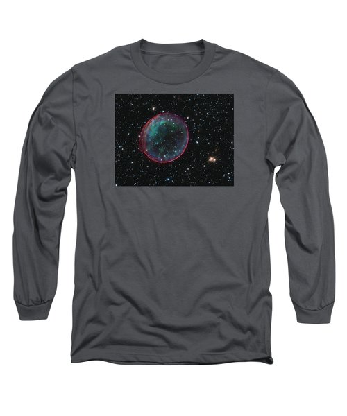 Supernova Bubble Resembles Holiday Ornament Long Sleeve T-Shirt