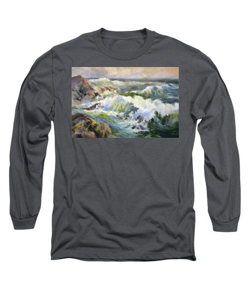 Surf Action Long Sleeve T-Shirt by Rae Andrews