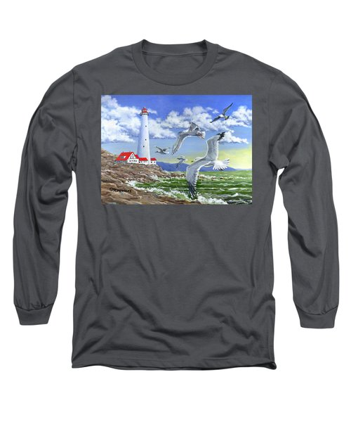Surf And Turf Long Sleeve T-Shirt