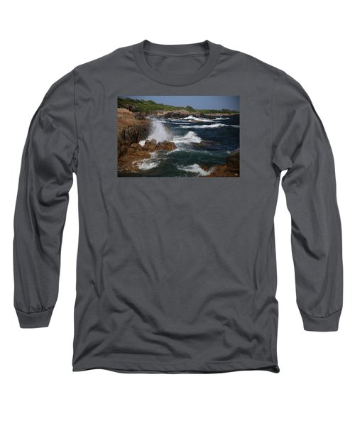 Surf At Biddeford Pool Long Sleeve T-Shirt