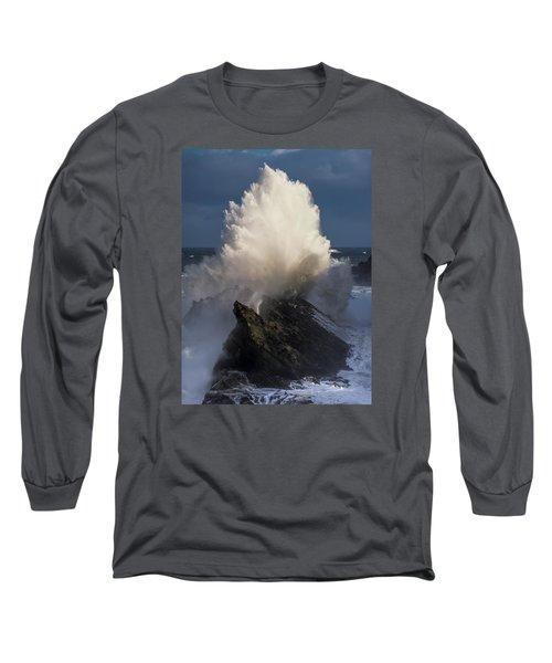 Surf Eruption Long Sleeve T-Shirt