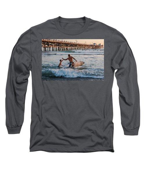 Surfboard Inspirational Long Sleeve T-Shirt