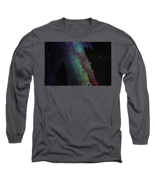 Surreal Milky Way Long Sleeve T-Shirt by Jeremy Tamsen