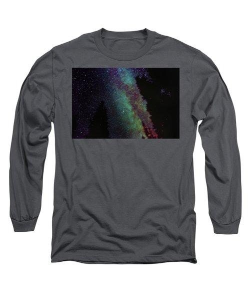 Surreal Milky Way Long Sleeve T-Shirt