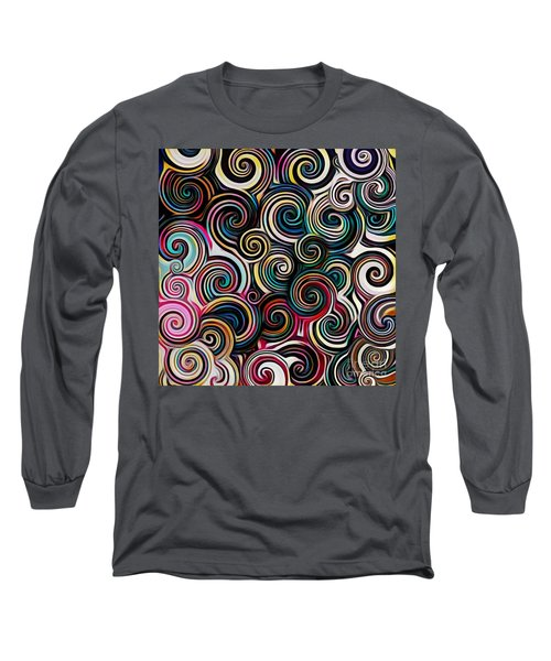 Surreal Swirl  Long Sleeve T-Shirt