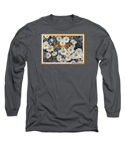 Survive The Recovery Long Sleeve T-Shirt by Holley Jacobs
