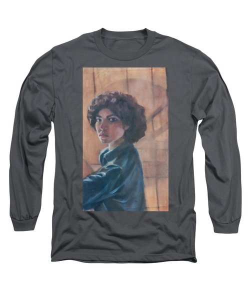 Susan Berger - Suzn Smith - Self Portrait Long Sleeve T-Shirt