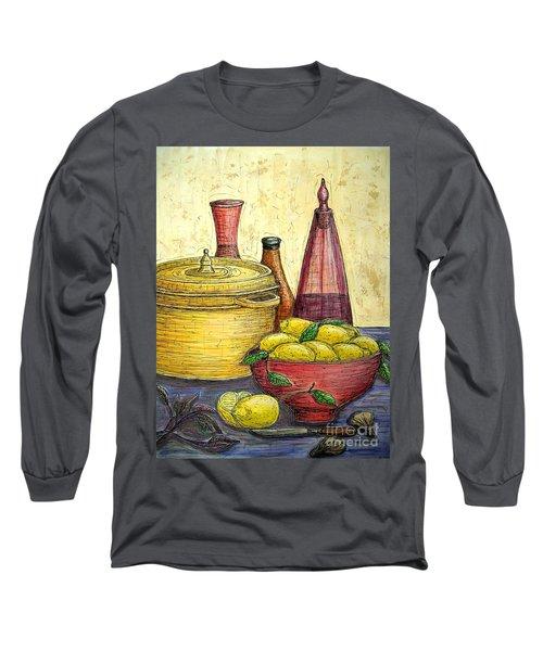 Sustenance Long Sleeve T-Shirt by Kim Jones