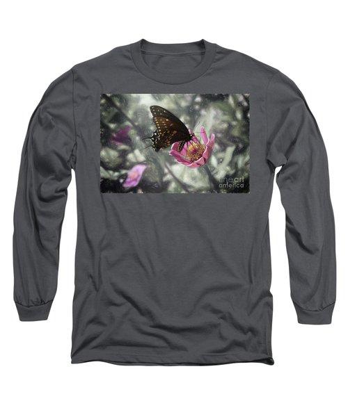 Swallowtail In A Fairytale Long Sleeve T-Shirt